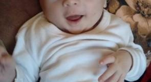 الطفل الرضيع غيث يحيى محمود ابو ريده في ذمة الله