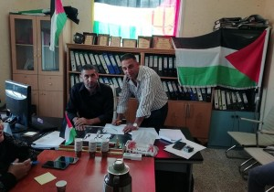 بلدية قصرة توقع اتفاقية تعبيد شارع السهل في بلدة قصرة مع مكتب الحسام للتعهدات العامة