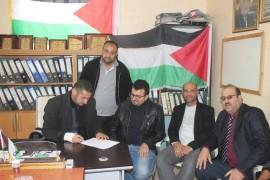 توقيع اتفاقية تحديث عدادات Dajan الى برنامج هولي1