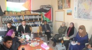 تشكيل لجنة محلية لمتابعة تنفيذ المشاريع التي تنفذها مؤسسة الرؤية العالمية بالتعاون مع بلدية قصرة في البلدة