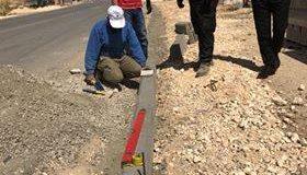 بدء اعمال البناء حجر الشك – شارع السهل
