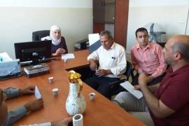 بلدية قصرة تجتمع مع مجلس الخدمات المشترك لمناقشة ازمة المياه