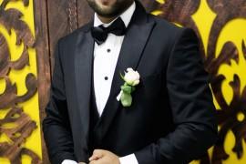 تهنئة للشاب مالك عبد الرحمن هاشم عوده بمناسبة الزواج