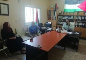 اجتماع بلدية قصرة مع لجنة تسيير الاعمال في مجلس الخدمات المشترك