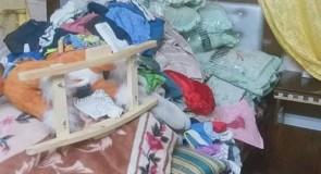 قوات الاحتلال تقتحم بلدة قصرة وتفتش منزل السيد ايمن عقلة صادق حمدان ومحلاته