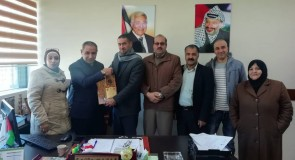 لقاء بلدية قصرة مع مديرية الحكم المحلي – نابلس