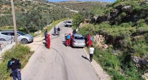 رش وتعقيم البلدة من قبل الدفاع المدني