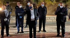 محافظ نابلس: إغلاق كامل لقصرة وتشديدات أمنية حفاظا على سلامة المواطنين