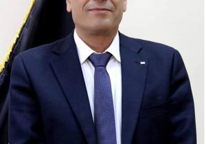 محمد جابر خريوش يتلقى اتصالا هاتفيا من محافظ محافظة قلقيلية عطوفة اللواء رافع رواجبة للاطلاع على أوضاع بلدة قصرة