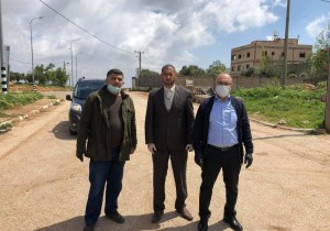 استلام ادوية لبلدة قصرة بدعم كريم من منظمة حقوق الانسان
